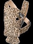 BabyBjörn Mini kandekott Beige-Leopard Cotton