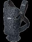 BabyBjörn Mini kandekott Anthracite-Leopard Mesh