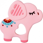 Närimisrõngas roosa elevant