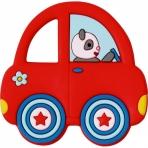 Närimisrõngas punane auto