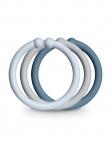 BIBS Loops rõngad Baby Blue/Cloud/Petrol 12tk/pakis