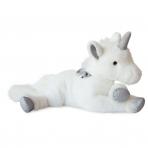 DOUDOU ET COMPAGNIE pehme mänguasi Unicorn Argent 60 CM