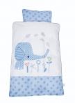 BabyDan voodipesukomplekt Elefantastic Blue