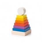 Hariv puidust püramiid Klotside ECO püramiid - 14