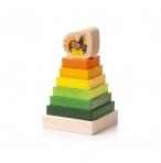 Hariv puidust püramiid Klotside ECO püramiid - 15