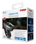 Reer tuli rattale, vankrile või jalutuskärule Light & Go Duo USB