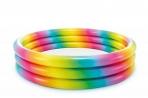 Intex Rainbow Ombre 168cm bassein