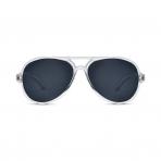 Hipsterkid Aviator Gold päikeseprillid vanusele 0-2 eluaastat – Clear