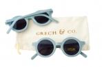 Grech & Co. ümbertöödeldud plastikust päikeseprillid lastele 18 kuud – 10 aastat – Light Blue