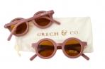 Grech & Co. ümbertöödeldud plastikust päikeseprillid lastele 18 kuud – 10 aastat – Burlwood