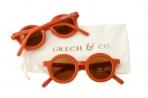 Grech & Co. ümbertöödeldud plastikust päikeseprillid lastele 18 kuud – 10 aastat – Rust