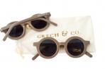Grech & Co. ümbertöödeldud plastikust päikeseprillid lastele 18 kuud – 10 aastat – Stone
