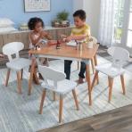 KidKraft väikelaste laua ja toolide komplekt Mid-Century Kid