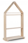Childhome garderoob ratastel 80x135 cm, naturaalne