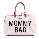 Childhome beebitarvete kott suur Mommy Bag Teddy Offwhite
