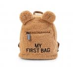 Childhome väikelapse seljakott My First Bag Teddy Brown