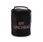 Childhome termokott My Lunchbag- Black/Gold