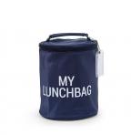 Childhome termokott My Lunchbag- Navy/White