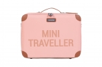 Childhome laste reisikohver Pink/Copper