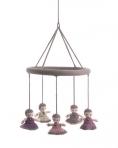 SMALLSTUFF riputatav mänguasi/voodikarusell, Babushka