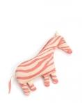 SmallStuff mänguasi-padi, Zebra roosa