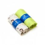 Kummiga voodilina komplekt Eco Owl+roheline, suuruse valik
