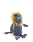 SmallStuff mänguasi, sinine Lõvi karvase lakaga