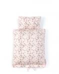 SmallStuff voodipesu nukule, roosad Liblikad