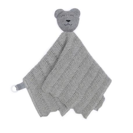 SmallStuff kaisulapp + lutihoidja Grey Teddy Bear