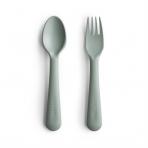 Mushie kahvel ja lusikas Sage