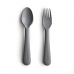 Mushie kahvel ja lusikas Smoke