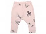 Fixoni organilisest puuvillast püksid roosa liblikas