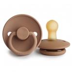 FRIGG Classic latekslutt Peach Bronze 2 tk pakendis -suuruse valik