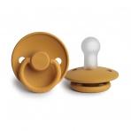 FRIGG Classic silikonlutt Honey Gold 2 tk pakendis -suuruse valik
