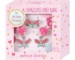 Princess Lillifee juveelide komplekt- kõrvaklambrid ja sõrmus