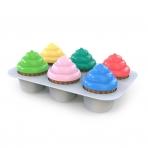 BRIGHT STARTS mänguasi Sort & Sweet cupcakes