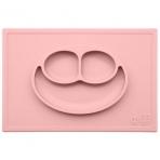 EZPZ silikoonist sektoritega taldrik kandilise matiga- roosa