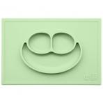 EZPZ silikoonist sektoritega taldrik kandilise matiga- roheline