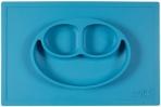EZPZ silikoonist sektoritega taldrik kandilise matiga- sinine