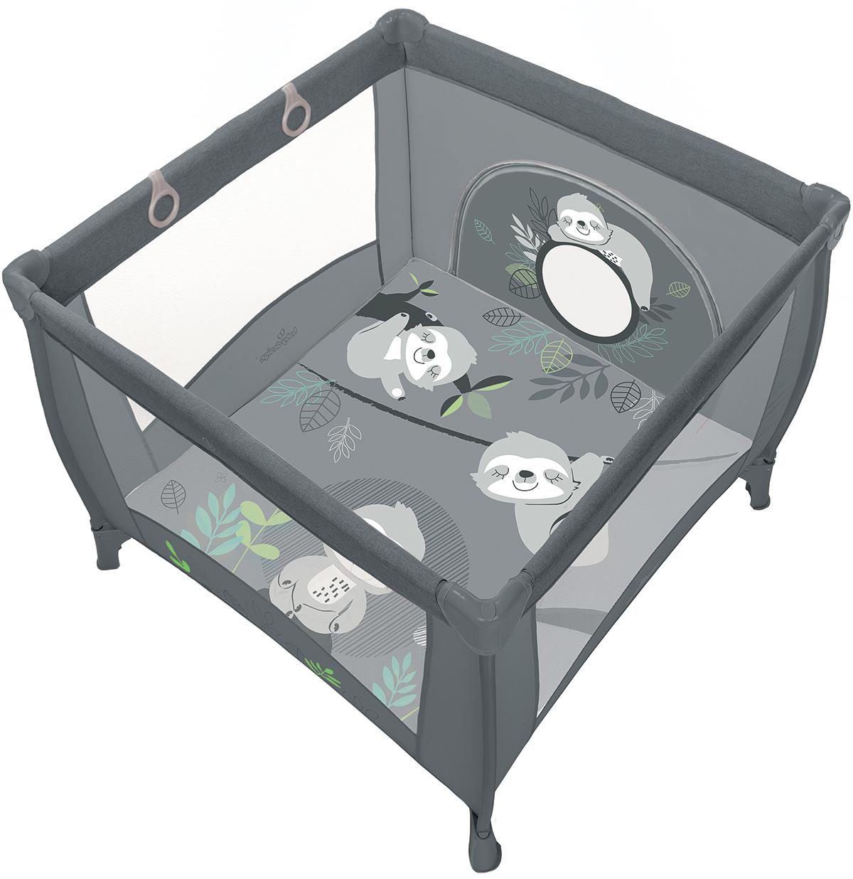 Baby Design mängumaneez  Play up hall/grafiit -30% LADU TÜHJAKS