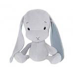 Effiki kaisujänes 50 cm, hall-sinised kõrvad