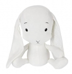 Effiki kaisujänes 50 cm, valge- valged kõrvad