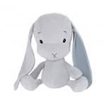 Effiki kaisujänes 35 cm, hall-sinised kõrvad