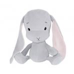 Effiki kaisujänes 20 cm, hall-roosad kõrvad