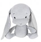 Effiki kaisujänes 20 cm, hall-hallid kõrvad