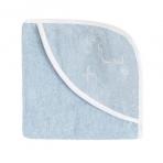 Effiki vannirätik kapuutsiga, 95x95 cm, sinine