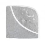 Effiki vannirätik kapuutsiga, 70x70 cm, hall