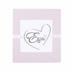 Effiki voodilina kummiga 70x140, roosa