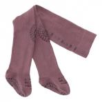 GoBabyGo libisemiskindlad stopperitega (põlv+tald) sukkpüksid Misty Plum