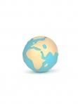 Oli&Carol närimisrõngas/vannipall Earthy the World Ball
